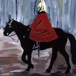 Horseguard (42x29 / 1996 / Aquarell)