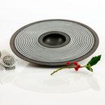"""Schale """"Kronos"""": Esche, 4 x 25 cm, schwarz gebeizt / Preis: 240,00 €"""