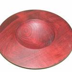 Wackelschale: Esche, 21 x 5 cm, Oberfläche: Chestnut-Spiritusbeize rot / Preis: 100,00 € (unverkäuflich)