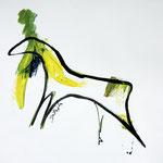 Horse (61x43 / 1998 / Gouache)