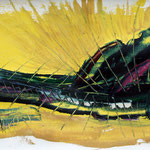 Die Tiefsee (55 x23,5 / 1999 / Öl)