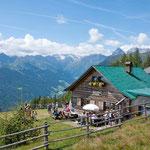Hühnerspielhütte Gossensass Brenner Colle Isarco Brenner Südtirol Alto Adige Baita Gourmet Südtirol