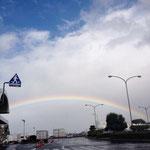 長崎空港で見た「虹」大切な想い出。 一生忘れません。
