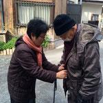 2014年明け、弘明寺の観音様へお参り。