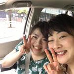 長野から車で駆けつけてくれた泉美ちゃん。 本当に嬉しかった。またご一緒させて下さい!