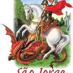 ドラゴンを退治したという伝説を持つ「São Jorge」