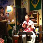 最後には大道寺さんも歌ってくださいました!私は思わずなんちゃってパンデイロ〜☆