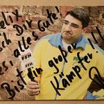 Ich habe sogar ein Autogramm von Boris Meinzer bekommen. Danke 🍀👍😉