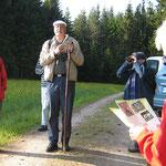 Exkursionsleiter Dr. Herbert Lange