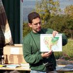 Thomas erklärt die Herbst-Flugrouten der Zugvögel