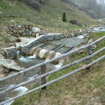 Kleinwasserkraftwerk mit Fischtreppe