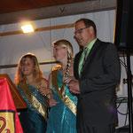 Loreley Julia und Loreley Nixe Juliane bei der Eröffnung der Weingass' 2014