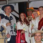 Die Repräsentanten bei der Eröffnung der Weingass' 2014