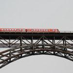 """Der """"Müngstener"""" auf """"seiner"""" Brücke"""