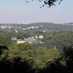 Blick auf das nördliche Wuppertal