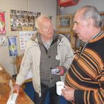 Horst Bartels mit Karlheinz Sollfrank