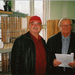 Zwei Großkröpferprofis. v.links Dieter Stanke, Franz Schuster     Foto:Stanke