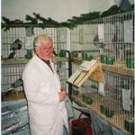 SR Roland Vogel bei der Arbeit.                                           Foto:Stanke