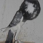 Mit Nackenblaswerk und kantigen Flügeln, Extraklasse!, F:N,