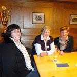 v.li. Frau Heckemeier, Frau Rönsch, Frau Kratz