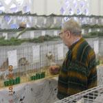 Welch ein Vorbild! Hans Pfeiffer beteiligt sich 80-jährig noch aktiv als Aussteller und Besucher an der HCS! Foto:Nawrotzky