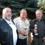 Herbsttagung 2009, v.li. die Zuchtfreunde Jonas, Buchler, Pfeiffer,