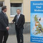 VDT-Boss- H.Köhnemann besucht uns auch.