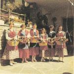 Marilena Fosanelli, Gabriella Branca, Carmen Arrigoni, Martinetti Nella, Rota Mariza, Locatelli Maria Pia