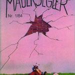 """Von 1983 bis 1988 gab unsere Naturschutzjugend unter der Federführung von Norbert Heil eine eigene Publikation """"der Mauersegler"""" heraus."""
