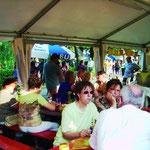 Unser Auftritt beim Stadtfest Bad Friedrichshall, dem Schacht-See-Fest.