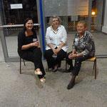 Drei NABU-Damen: Katrin Neumann, Susanne Messner und Irmgard Heidinger.