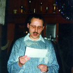 Wolfgang Ostertag, unser erster aktiver NAJU-Jugendlicher, gehörte bereits 1971 mit 10 Jahren zur Schwalben AG. Hier bei der Jahreshauptversammlung 1993.