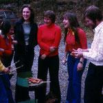 Hagenbacher DBV-Jugendgruppe mit Dieter Hiemer 1980.