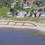 Luftbild Ferienhaus Strandkoenig Dünenweg 1