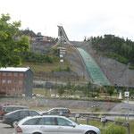 28.06. Skischanze mitten in Örnskölsvik an der Ostsee