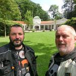 30.06. Ulf (BMW) und Walter (Transalp)