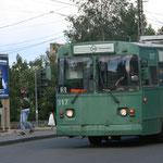 21.06. Elektrobusse in Petrozavodsk