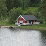 28.06. So stellt man sich ein typisches Schwedenhaus vor