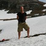 24.06. Barfuss im Schnee hatten wir zuletzt vor 25 Jahren in Andorra