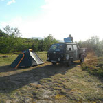 24.06. Unser schönes Camp nahe Ifjord