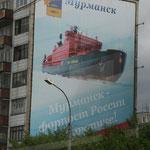 23.06. Grossflächige Werbung für die Eismeerflotte