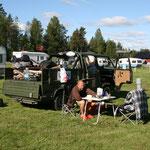 28.06. Camping südlich von Lulea (Morgens)