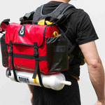 WWTC Raft Thwart bag as a backpack