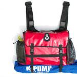 WWTC Raft Thwart bag - Pump holder