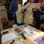 Workshop druktechnieken landelijke Freinetdag Heerlen