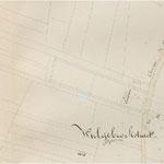 Kaart ca 1843 - foto stadarchief Brugge