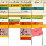 Planbord 1e leerjaar