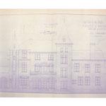 Tekening kasteel 1939 - foto stadarchief Brugge