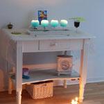Der Altar im Gebetsraum