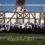Freckenfelder Zimmermänner Fasching 2011